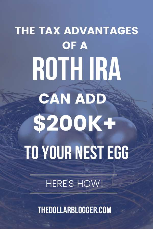 The Roth IRA can be an amazing retirement vehicle as your money grows tax-deferred and you can withdraw your hard-earned money tax-free if you're older than age 59½. Tax free savings can up your nest egg by over $200k versus if you had to pay taxes. Here's an example!
