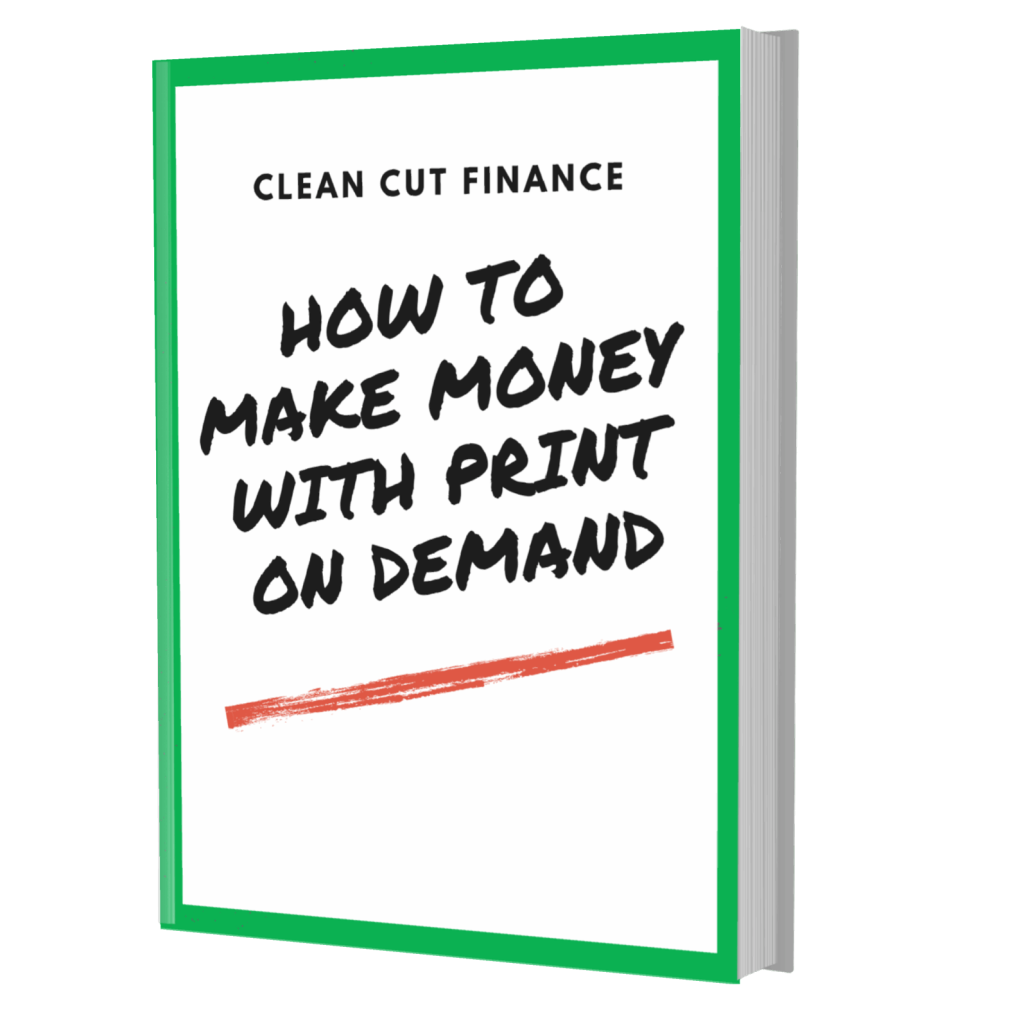 book cover of how to make money with print on demand eBook